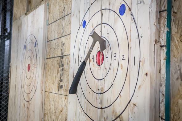 Image result for axe throwing target