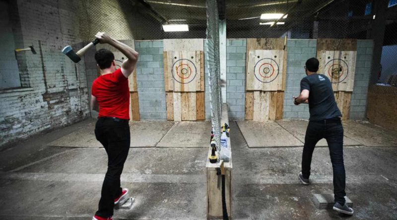 Brooklyn Axe Throwing - The Top 5 Throwing Ranges - Clutch Axes