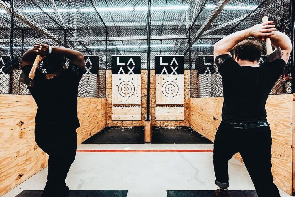 Hollywood Axe Throwing