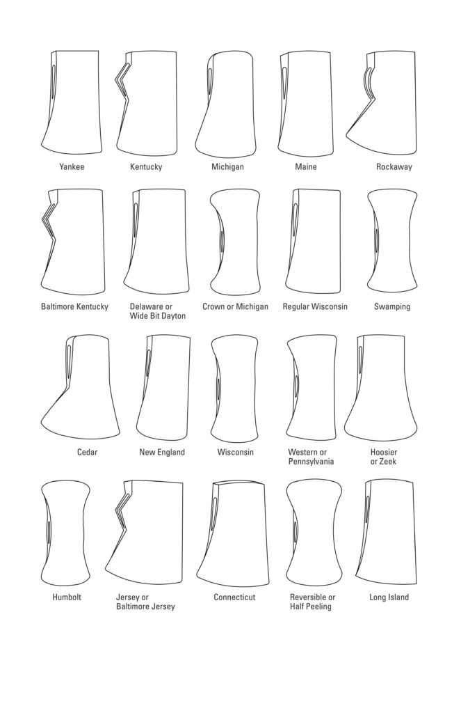 Michigan Axe Pattern Uses and Origin - Clutch Axes
